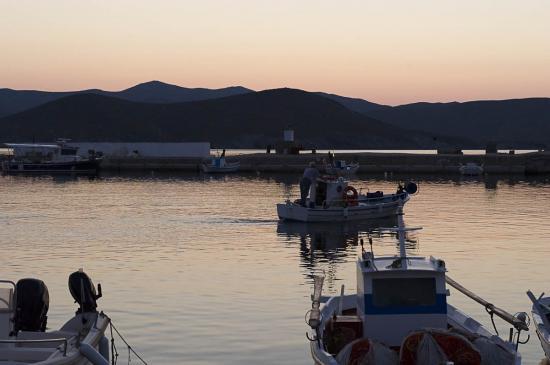 01 - Arrivée dans le port de Psara