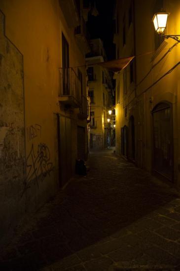 Salerne by night
