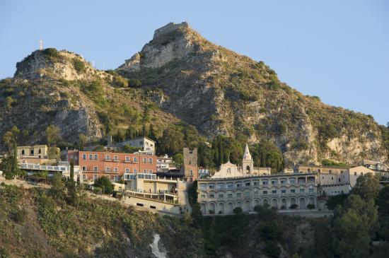 Taormina vue du Bateau