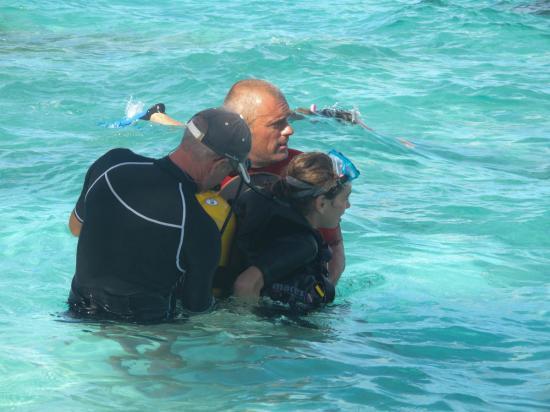 03 - Baptème de plongée d'Inès