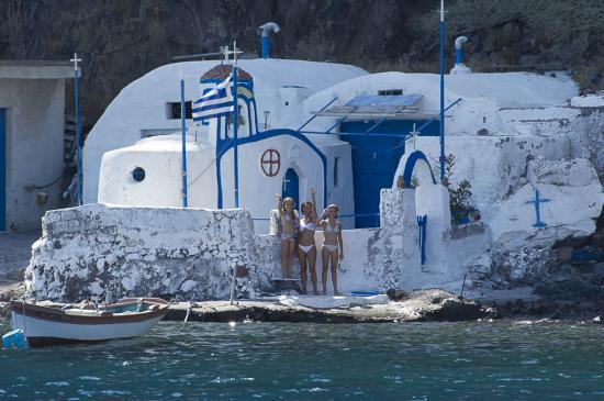 05 - Chapelle à Santorin