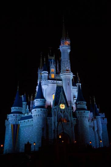 07 - Le château en bleu