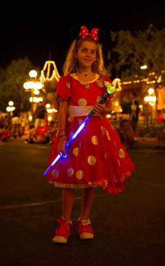 11 - Minnie est prête pour la parade électrique