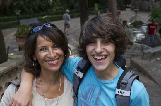 La mère et The Fils