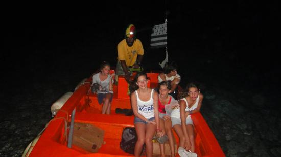 38 - Retour en bateau-taxi