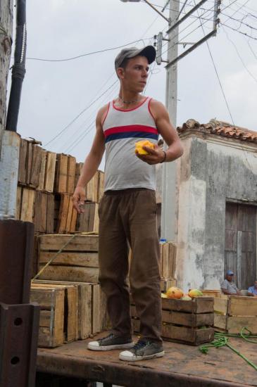 Vendeur de fruit