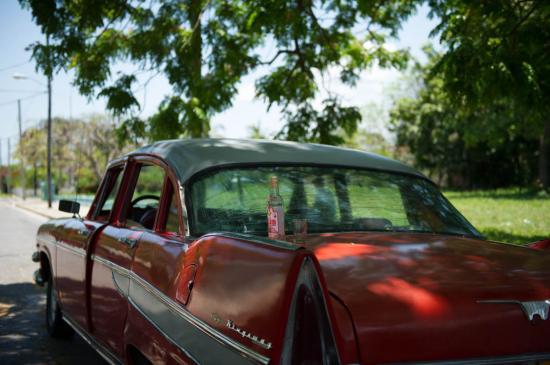 Le meilleur des deux mondes : voiture américaine et boisson russe