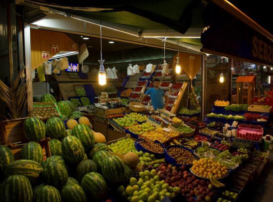 Notre vendeur de légumes quotidien