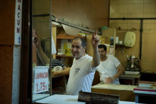 Un vendeur de Kebab de Yalova
