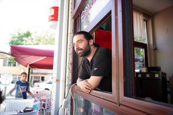 Un restaurateur de Selimpasa. On a adoré cette étape de 3 jours