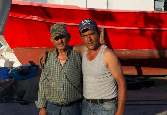 Deux pêcheurs de Selimpasa