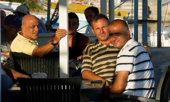 Nos amis du port de pêche de Selimpasa