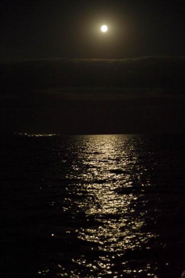 Navigation à la lueur de la lune