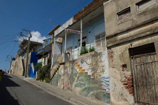 Dans les rues de Santiago