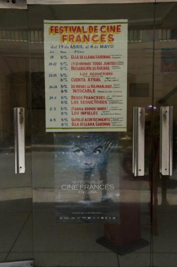 Le festival du cinéma français de Santiago
