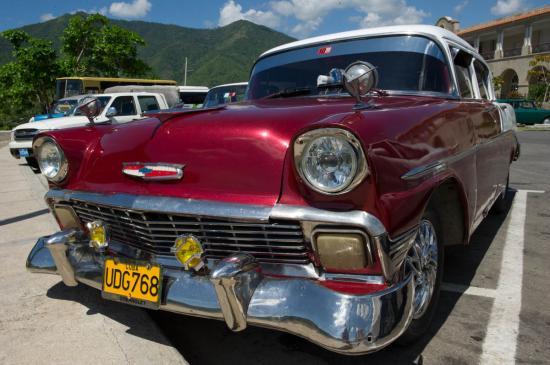 Une des plus belles que nous ayons vue : une Chevrolet