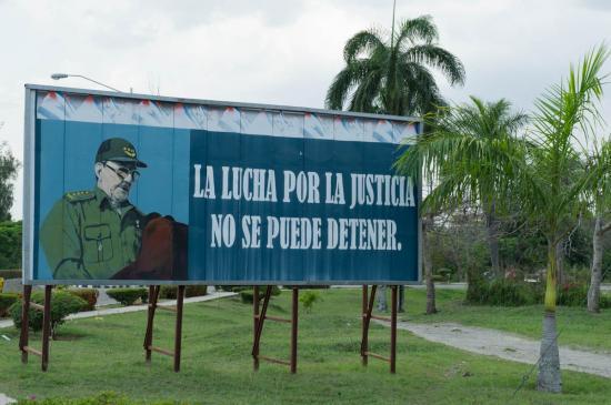 On ne peut rien contre la lutte pour la justice (???)