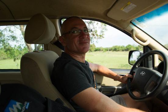 Eric, notre super chauffeur à Cuba
