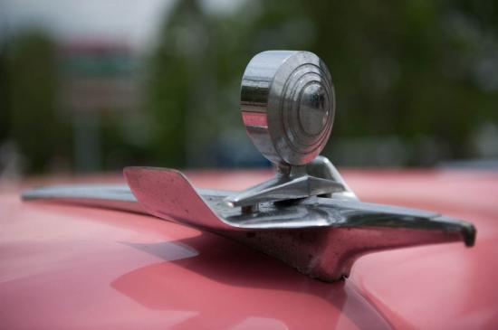 Détail de la Pontiac