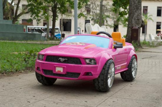 Et la plus belle pour la fin : une Ford Mustang
