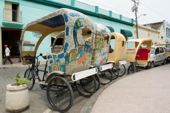 Les cyclotaxis cubains