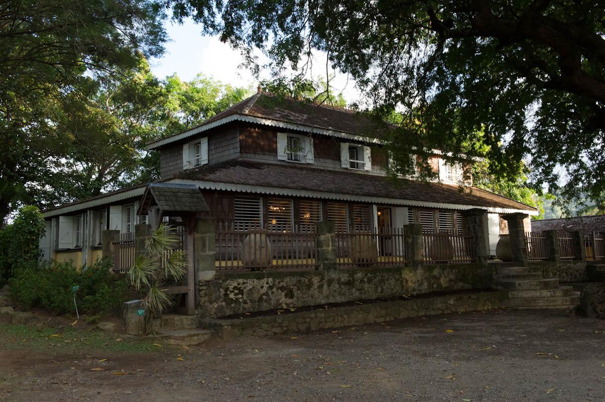 Martinique nous voil - Maison coloniale en bois ...